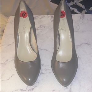 Nine West Grey High Heels Size 6